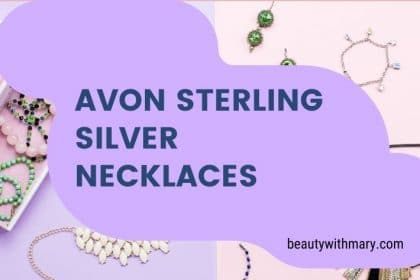 Avon Sterling Silver Necklace