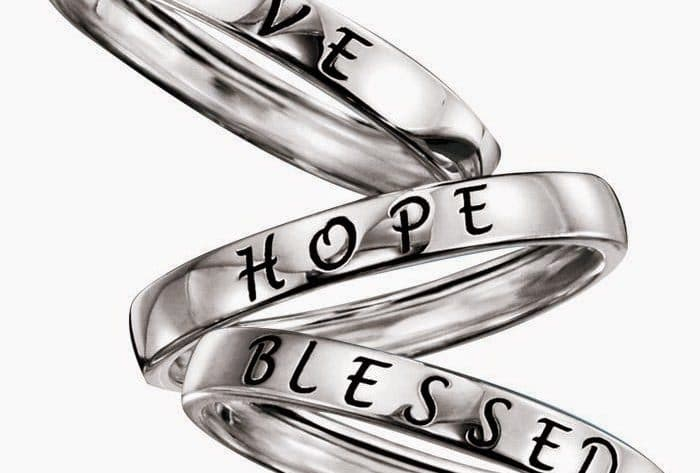 Avon Sterling Silver Rings - Inspirational Jewelry