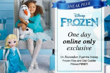 Avon Disney Frozen Exclusive Sale 11/3