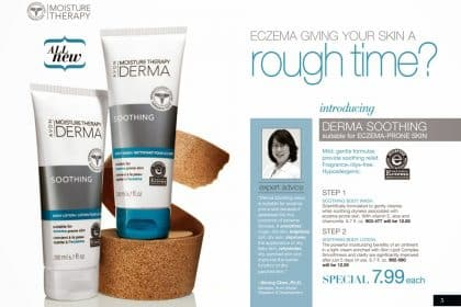 New Avon Moisture Therapy   Derma Soothing