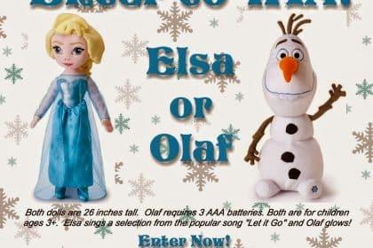 Win Disney Frozen Dolls | Giveaway