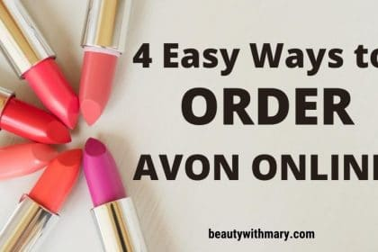 Easily Order Avon Online - 4 Simple Ways