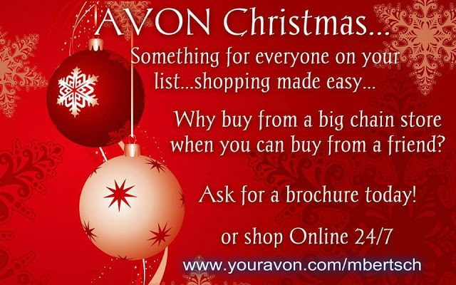 Avon Christmas Online - Why Buy from Walmart?