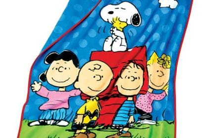 Peanuts Anniversary Throw - Avon