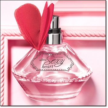 Avon Ultra Sexy Heart Perfume
