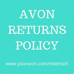 Avon 90 Day Money Back Guarantee