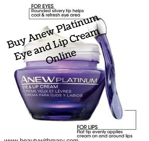 Avon Anew Platinum Eye and Lip Cream