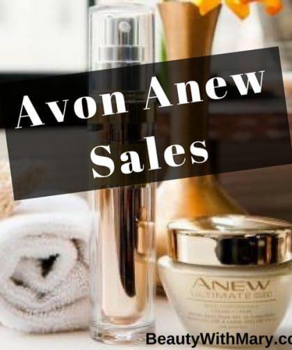 Avon Anew sales