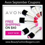 Avon Coupon Codes September 2017