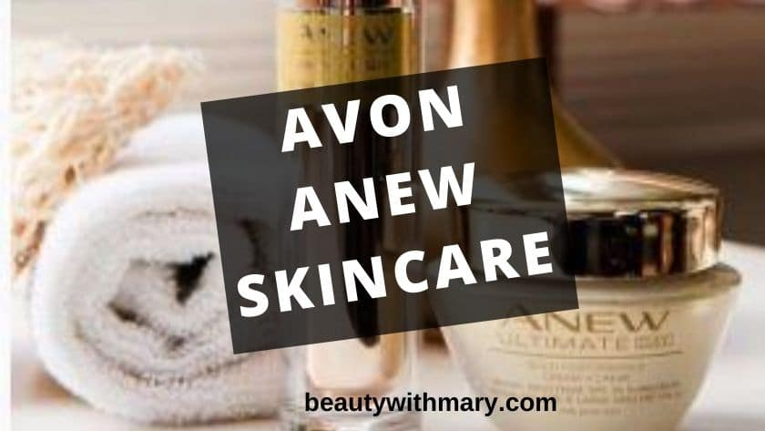 Avon Anew Skin Care Products