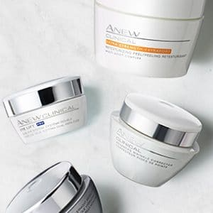 Avon Anew skin care products - Clinical