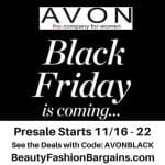Avon Black Friday