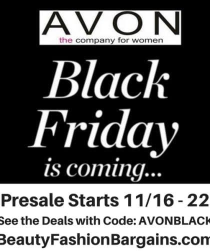 Avon Black Friday