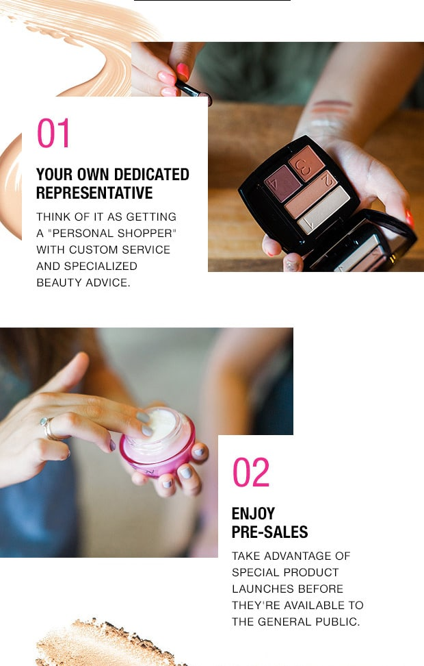 benefits of shopping avon with representative