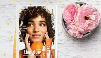 current Avon brochure online