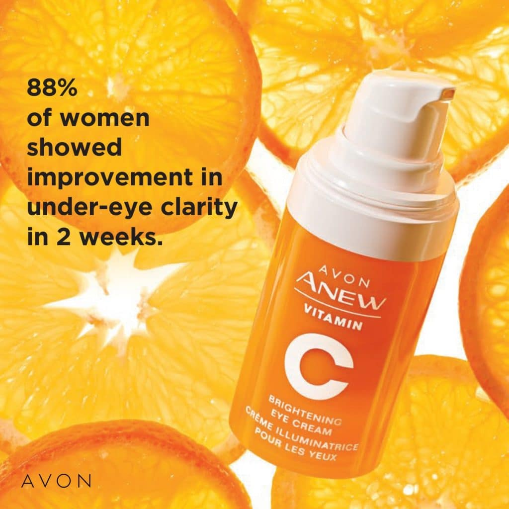 Anew Vitamin C from current Avon Catalog