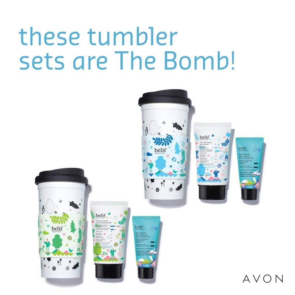 belif Skincare Tumbler Set