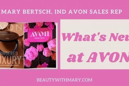 current Avon catalog August 2020