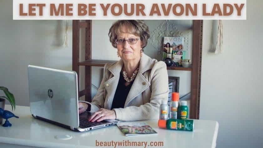 buy Avon from representative not Amazon or eBay