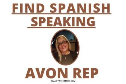 spanish speaking avon representative