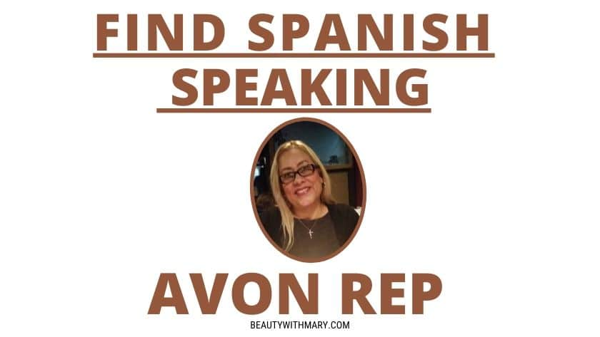 spanish speaking avon representative