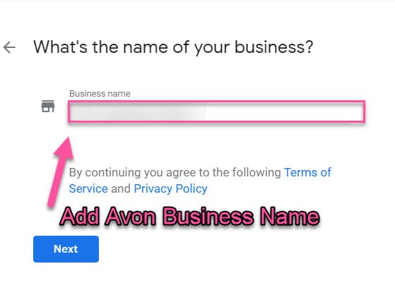 Google-my-business-avon-name