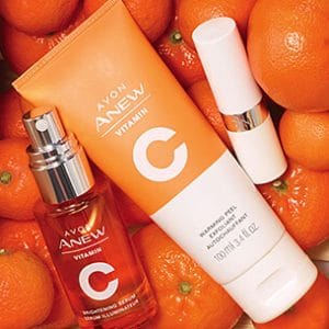 Avon Anew skin care products - Vitamin C