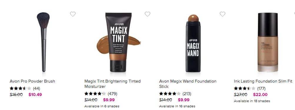 Avon Foundation - Buy Avon Makeup Online