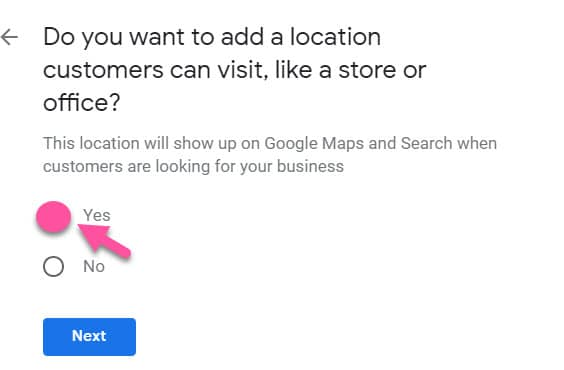 how to set up Google By Business for Avon