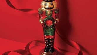 Nutcracker Decoration by Avon