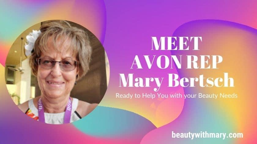 Avon Representative, Mary Bertsch