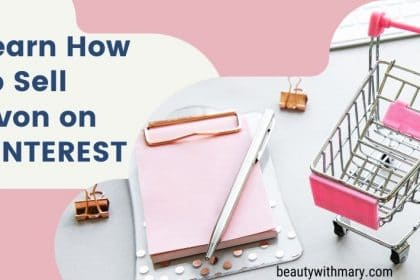how to sell Avon on Pinterest