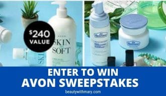 enter to win Avon sweepstakes September 2020