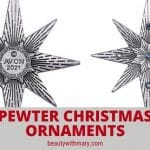 Avon Pewter Ornament 2021