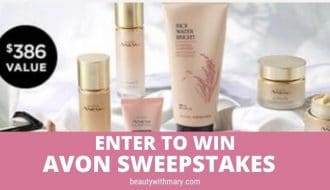 win Avon sweepstakes