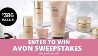 win Avon sweepstakes