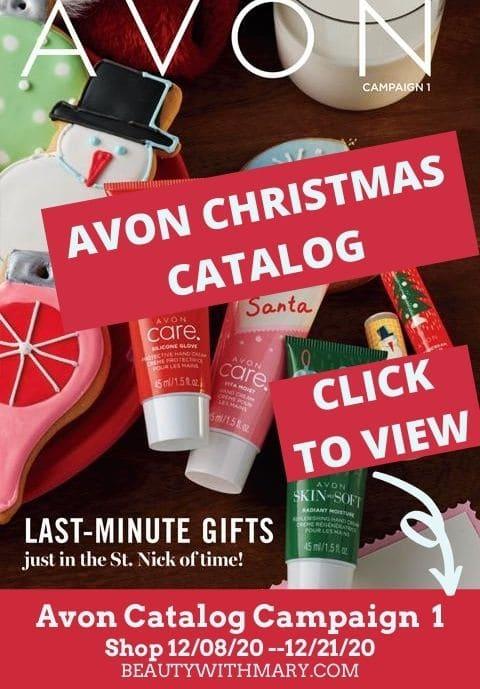 Avon catalog / brochure online