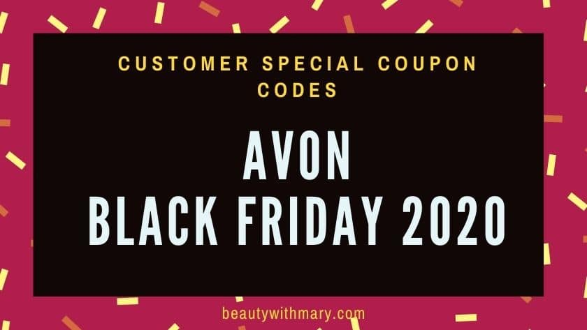Avon Black Friday 2020