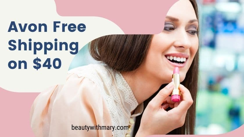 Avon free shipping on $40