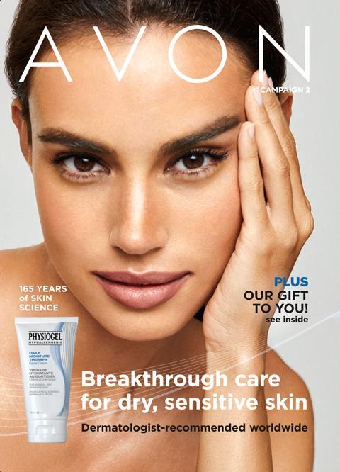 Avon online brochure campaign 2 2021