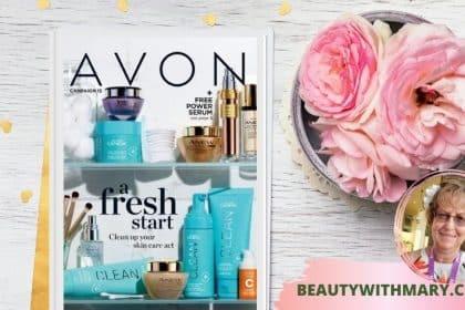 current Avon brochure/catalog campaign 15 2021