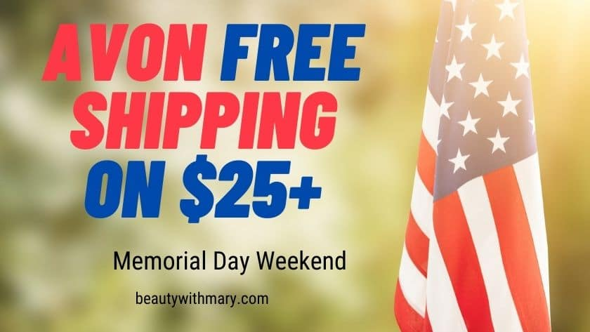Avon Memorial Day Free Shipping