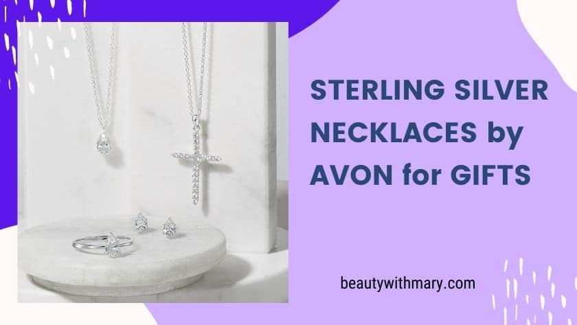 Avon Sterling Silver Necklaces