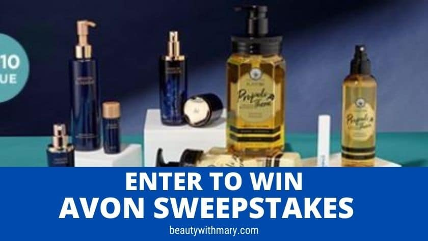 Avon Sweepstakes June 2021 - Monthly Beauty Giveaway