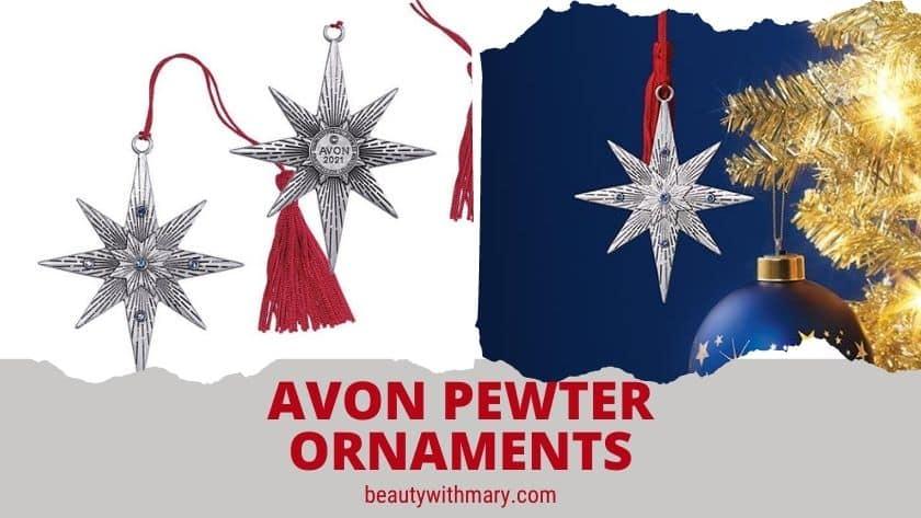 Avon Pewter Christmas Ornament 2021